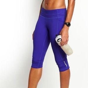 Athleta Workout Dobby Be Free Knicker Pants
